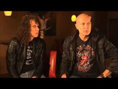 Wolf Hoffmann and Peter Baltes of Accept and Ron Keel