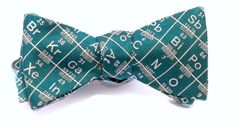 Periodic Table Bow Tie: The perfect paradox, woman in menswear, smart and beautiful. #bowtieofficial #OoOTIE