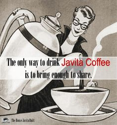 Javita Coffee Home Party Tips.