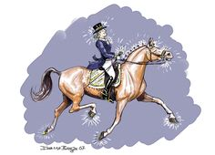 25 Signs You are an Incurable Dressage Queen.... It's ok. We like bling and Mud is NOT acceptable!