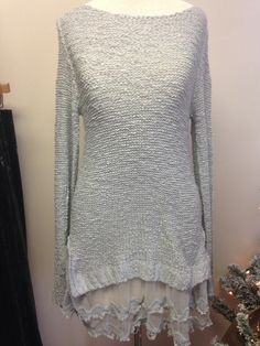 Lovely lace sweater – Merchant31