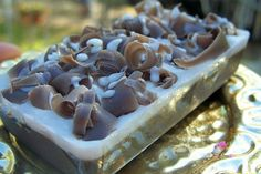 Chocolate Mousse Soap Bar by SaponeSoaps on Etsy, $4.00