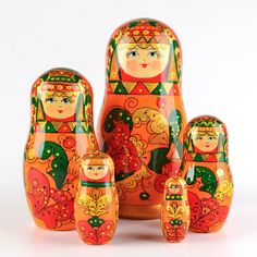 Russian Craft Nested Doll