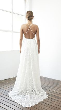 X marks the... pretty #wedding gown! // Dress: Grace Loves Lace - the Harriet