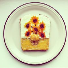 Van Gogh toast   Idafrosk