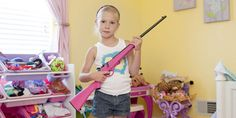 American Children Pose With Their Guns | Raw File | WIRED