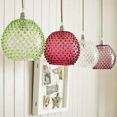 Diamond Tip Hanging Lamps   Lighting   Graham and Green