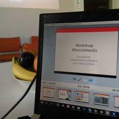 Heute #SocialMedia #Workshop über... naja... irgendwie alles  Natürlich sprechen wir auch über #Instagram! Und vielleicht sogar #boomerang