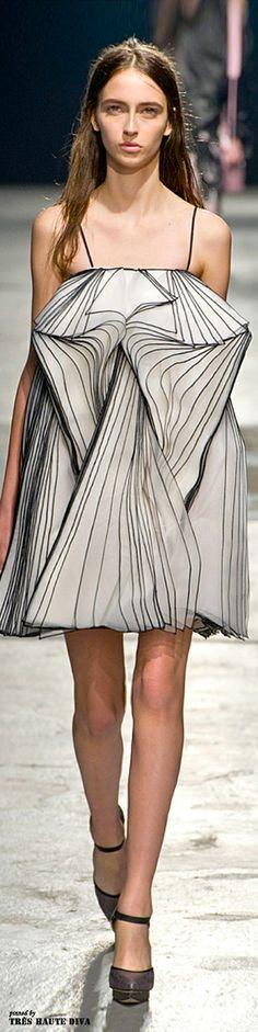 London Fashion Week Christopher Kane Fall 2014 | The House of Beccaria~