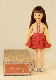 Vintage Ideal Pepper's Playmate Patti Doll Tammy Doll Family Original Box 1964 #Ideal #Dolls