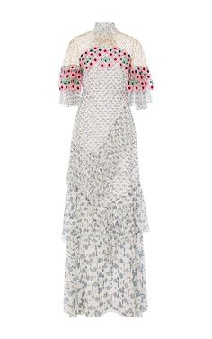 Floral Embroidered Gown by PETER PILOTTO Now Available on Moda Operandi