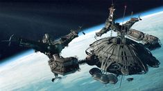 concept ships: Space station concept by Dmitry Popov