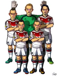2014 Brazil #WorldCup team Germany #GER by Sakiroo Choi, via Behance