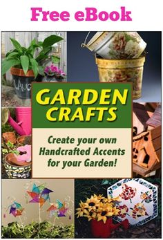 FREE Garden Crafts e Book!