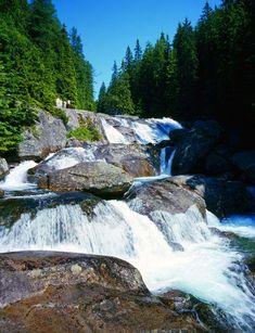 Studenovodské vodopády,V.Tatry, Slovensko