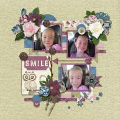 Smile Em - Wise Words Bundled Collection by Seatrout Scraps http://store.gingerscraps.net/Wise-Words-Bundled-Collection.html and template is True Colors (retired) by Seatrout Scraps