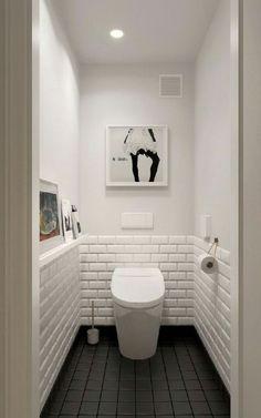 Scandinavian bathroom design ideas with white shades that you . - Scandinavian bathroom design ideas with white shades that you - Scandinavian Bathroom Design Ideas, Bathroom Design Small, Small Toilet Design, Scandinavian Style, Bath Design, Scandinavian Toilets, Vanity Design, Bathroom Designs, Small White Bathrooms