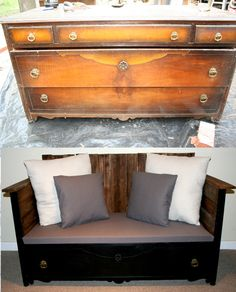 A great site for before and after furniture remodels and ideas!