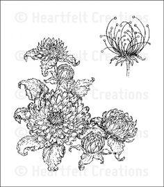 Heartfelt Creations | Dahlia Bouquet PreCut Set $15.99