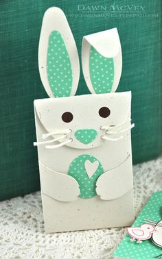 Bunny Bag by Dawn McVey for Papertrey Ink (February 2014)