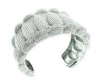 Magnificent Diamond Cuff Bracelet
