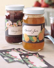 A Round-Up of Free Printable Canning Labels