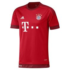 This German machine plays with control and deadly attack. From the back to the front, Bayern Munich dominates all aspect of play. The new Adidas 2015-16 Bayern Munich home jersey may look simple, but it strikes fear into the opponent's eye. Get the new FC Bayern jersey today at SoccerCorner.com  http://www.soccercorner.com/Adidas-Bayern-Munich-Home-15-16-Soccer-Jersey-p/tt-ads14294.htm