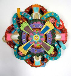 Cut paper artworks by Michael Velliquette. Paper Artist, Artist Art, Book Sculpture, Paper Artwork, Middle School Art, Photo Projects, Art Lesson Plans, Elementary Art, Creative Studio