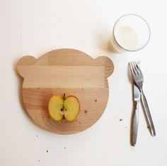 cutting board bear