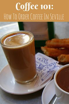 When most people think of drinks in Spain, they think of sipping on a glass of tempranillo red wine or perhaps a cool cerveza in a local square. But coffee is just as important in Spain, and the locals have their own times of day and ways of how to order coffee in Seville.  http://devoursevillefoodtours.com/how-to-order-coffee-in-seville/