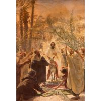 Catholic Digest connects with readers through personal stories of triumphs and struggles, joys and challenges, and also the lighter side of Catholic living. Palm Sunday, Quiet Moments, Catholic, Magazine, In This Moment, Painting, Painting Art, Magazines, Paintings