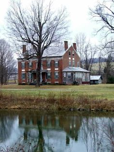 The Ford house, Seven mile Ford Va. Built about 1842. Union soldiers used the bottom floor as horse stalls in '64.