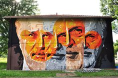 Orticanoodles – New Mural at Cheap Festival 2014