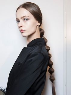 The 17 prettiest ponytails right now: Sleek and segmented