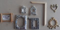 dolls houses and minis: How to Make Miniature Picture Frames