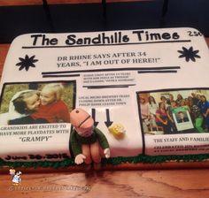 Coolest Retirement Cake... Coolest Birthday Cake Ideas