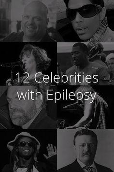 CURE 4EPILEPSY! 12 Celebrities With EPILEPSY!