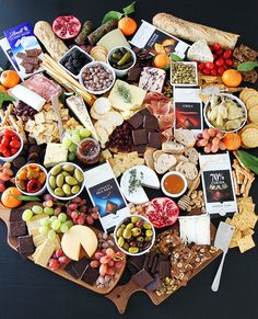 Cheese and Chocolate Board