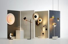 Best Design Projects invites you to read What To Expect From Lightjunction During London Design Festival Display Design, Booth Design, Lamp Design, Store Design, Showroom Design, Office Interior Design, Lighting Concepts, Lighting Design, Vitrine Design