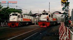 momen balapan lokomotif CC 201