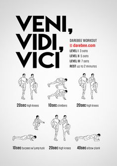 Veni, Vidi, Vici! Workout