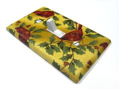 Christmas Holiday Decor Cardinal Bird Light Switch by ModernSwitch, $6.00