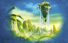 De wereld van Legends of Chima.