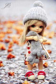 Cute Little Doll Cute Baby Dolls, Cute Babies, Pretty Dolls, Beautiful Dolls, Little Doll, Little Girls, Baby Girls, Kids Girls, Blythe Dolls