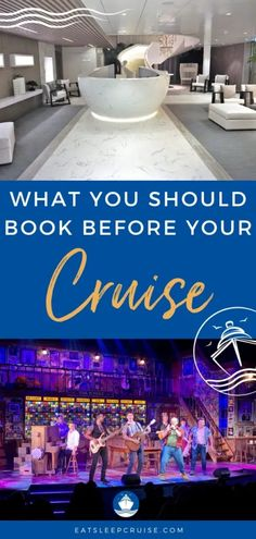 What Should I Book Before My Cruise? Once you have a reservation, there are a number of items that you should book before your cruise. Find out what you need to book pre-cruise. #cruise #cruiseplanning #cruisetips #eatsleepcruise #cruisevacation Best Cruise, Cruise Port, Cruise Travel, Cruise Vacation, Vacations, Cruise Excursions, Cruise Destinations, Packing List For Cruise, Cruise Tips