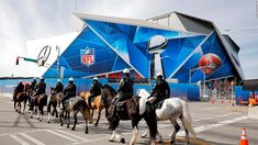 At least six drones have been confiscated after flying near the Mercedez-Benz stadium in Atlanta ahead of the Super Bowl, authorities said. Fear Game, Cindy Mccain, Super Bowl Weekend, Atlanta Hotels, Mercedez Benz, Sport Craft, Goals And Objectives, Healthy People 2020 Goals, Human Trafficking