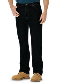 Dickies Black  ular-Fit Straight Leg 6-Pocket Jeans