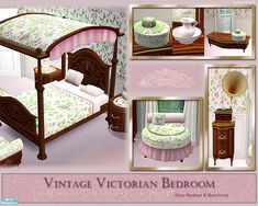 cashcraft's Vintage Victorian Bedroom Decor