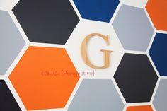 Perspective by CCMcAfee — Hexagon Wall - Tween Boy Room - Part 1 - PERSPECTIVE