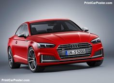 Audi S5 Coupe 2017 poster, #poster, #mousepad